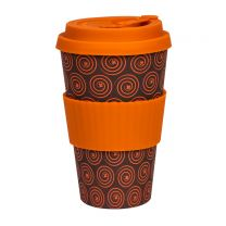 Care Cup Orange Fortune Bambus kop