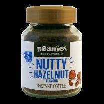 Beanies Nutty Hazelnut instant kaffe med smag af hasselnød