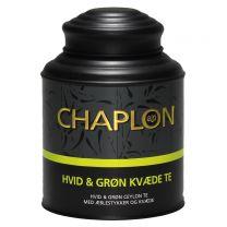 Chaplon Hvid og Grøn Te med kvæde dåse Økologisk 160g