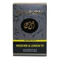 Chaplon Ingefær og Lemon Te refill Økologisk 100 g