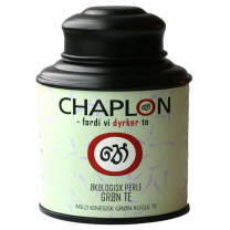 Chaplon Grøn Perle Te dåse Økologisk 80g