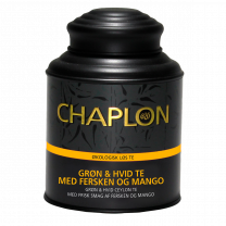 Chaplon Fersken og Mango Te Dåse Økologisk 160g