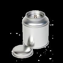 Tedåse sølv rund ø9 100g