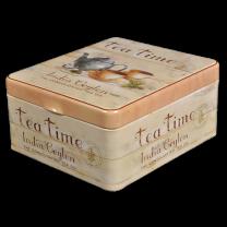 Tedåse Teatime til tebreve (4 rum)