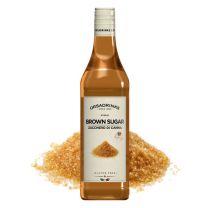 ODK Brun Sukker Sirup 750 ml Plast