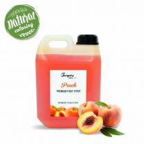 Premium Fersken Sirup 2l