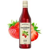 ODK Jordbær Sirup 750 ml Plast