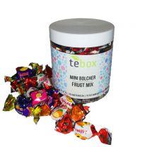 Tebox Frugt Mini Bolcher 100g