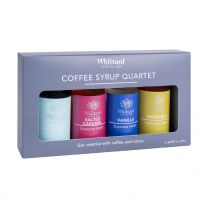 Whittard Coffee Syrup Quartet 4 x 50 ml.