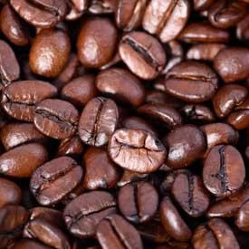 Hele kaffe bønner